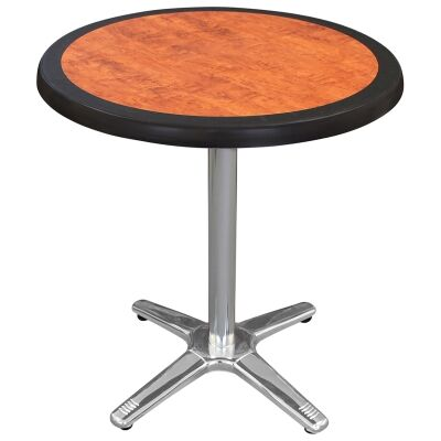 Amolaro Commercial Grade Round Dining Table, 70cm, Cherrywood