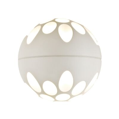 Jedi Metal LED Wall Light, White