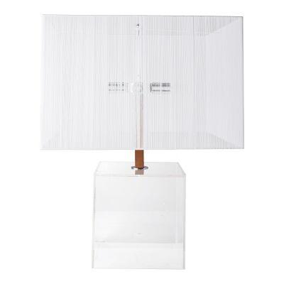 Gus Acrylic Base Table Lamp
