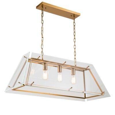 Hess Iron & Glass Pendant Light
