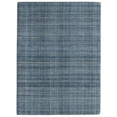 Laurel Hand Tuffted Wool Rug, 160x230cm, Turquoise