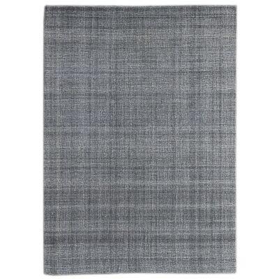Laurel Hand Tuffted Wool Rug, 160x230cm, Grey