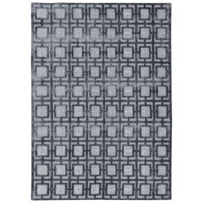 Kia Hand Loomed Modern Rug, 230x160cm, Dark Grey