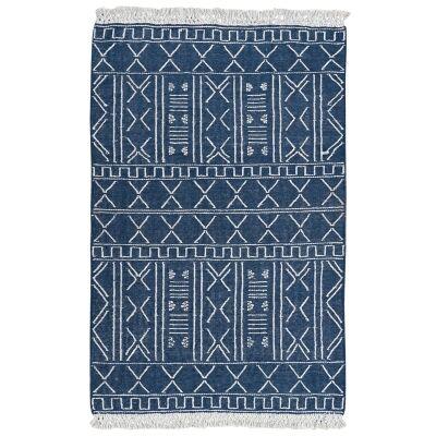 Relief Handwoven Wool Rug, 230x160cm