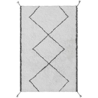 Safeyaa Tufted Shaggy Wool Rug, 230x160cm