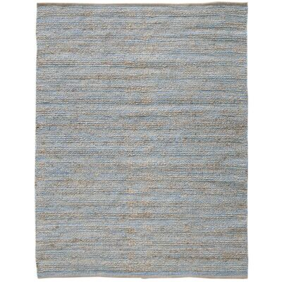 Natural Charm Handwoven Jute Rug , 160x230cm, Blue
