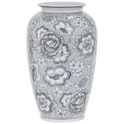 Bellamy Hand Painted Ceramic Vase, Small