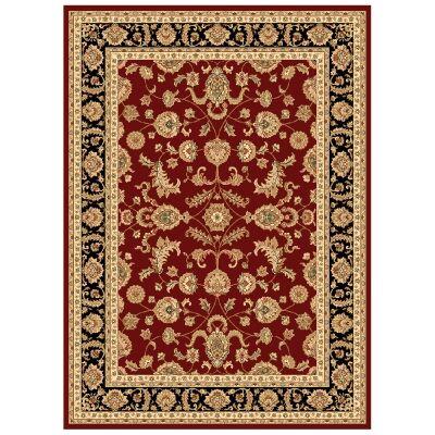 Julian Tait Turkish Made Oriental Rug, 380x280cm, Red / Black