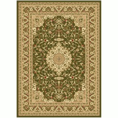 Julian Nela Turkish Made Oriental Rug, 150x80cm, Green