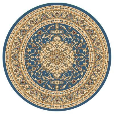 Julian Nela Turkish Made Oriental Round Rug, 160cm, Blue