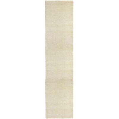 Reuss Handwoven Jute Runner Rug, 80x350cm, White