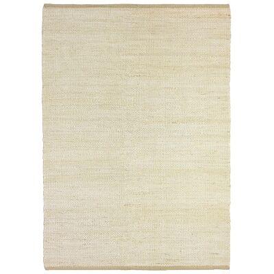 Reuss Handwoven Jute Rug, 200x300cm, White