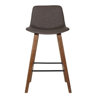 Divine PU Leather Counter Stool