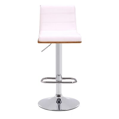 Sutdio 54 Gas Lift Swivel Bar Chair with PU Seat