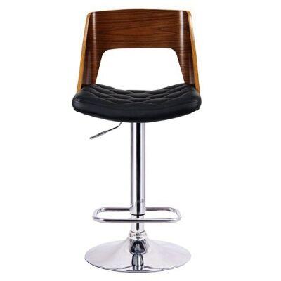 Mornington Gas Lift Swivel Bar Chair with PU Seat