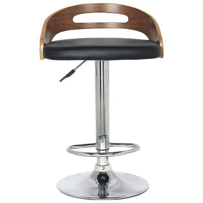 Hanson Gas Lift Swivel Bar Chair with PU Seat
