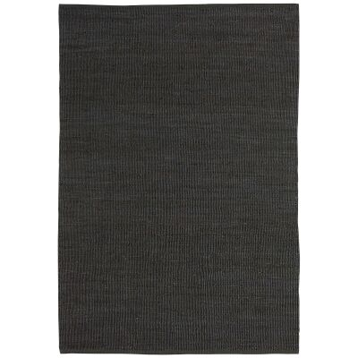 Reuss Jute Rug, 160x230cm, Charcoal