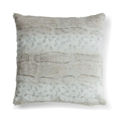 Reiss Faux Fur Scatter Cushion