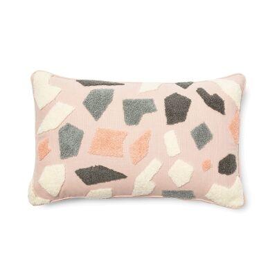 Keatons Fabric Lumbar Cushion, Pink