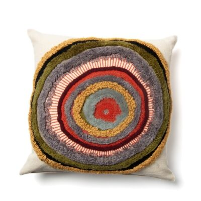 Bentinck Embroidered Cotton Fabric Scatter Cushion