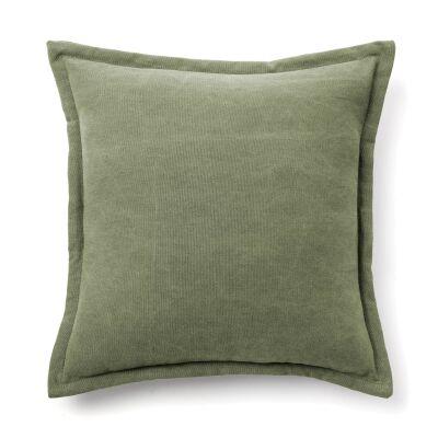 Walden Cotton Fabric Scatter Cushion, Green