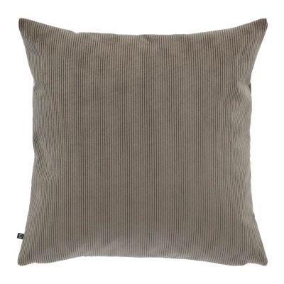 Chelsea Corduroy Fabric Scatter Cushion, Dark Grey