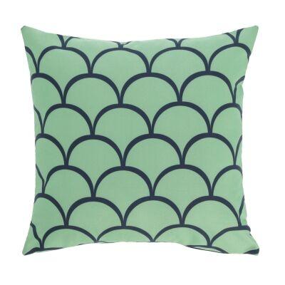 Elberton Fabric Indoor / Outdoor Scatter Cushion, Scollop