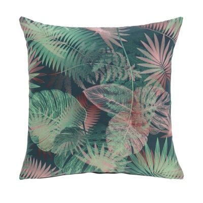 Osprey Fabric Scatter Cushion, Tropical Leaves