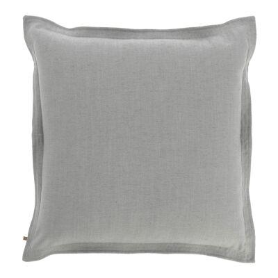 Moana Fabric Euro Cushion, Grey