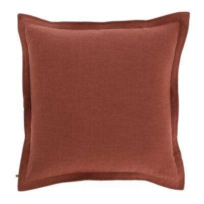 Moana Fabric Euro Cushion, Maroon