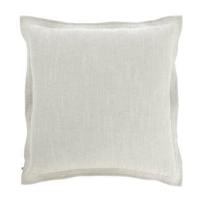 Moana Fabric Euro Cushion, White