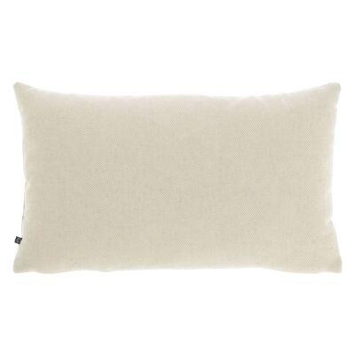 Amold Fabric Lumbar Cushion, Beige