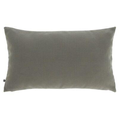 Amold Fabric Lumbar Cushion, Grey