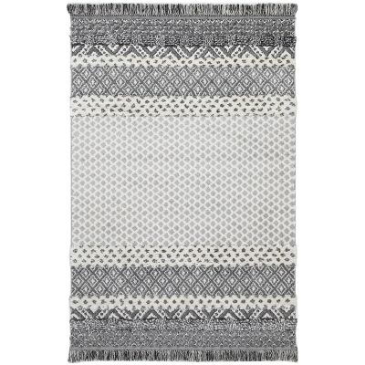 Mono Syeda Edge Modern Rug, 330x240cm