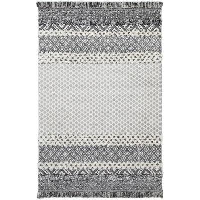 Mono Syeda Edge Modern Rug, 150x80cm