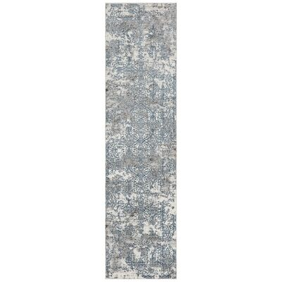 Kendra Yasmin Distressed Transitional Runner Rug, 80x300cm