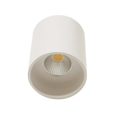 Keon Surface Mount LED Downlight, 5000K, Small, White