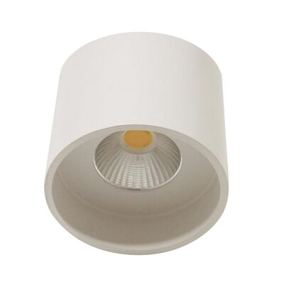 Keon Surface Mount LED Downlight, 3000K, Large, White