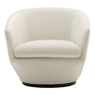 Kami Fabric Swivel Armchair
