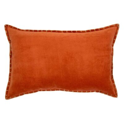 Adra Velvet Lumbar Cushion