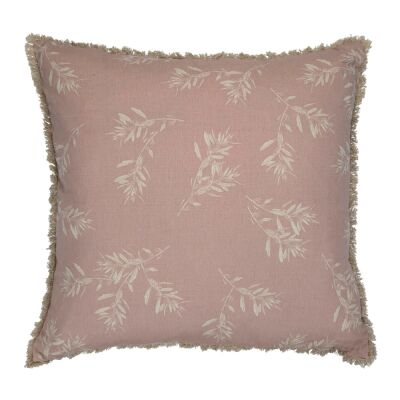 Olive Grove & Cotswold Fabric Euro Cushion, Blush
