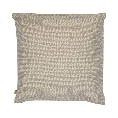 Cairo Fabric Scatter Cushion, Taupe