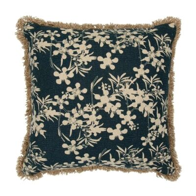 Myrtle Fabric Scatter Cushion, Blue