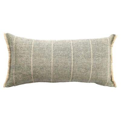 Scott Cotton Lumbar Cushion, Navy