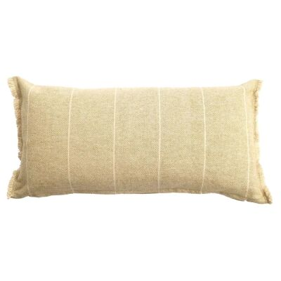 Scott Cotton Lumbar Cushion, Mustard