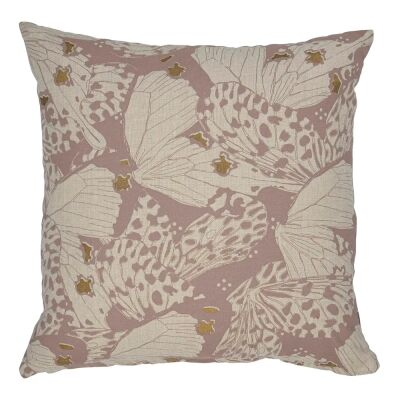 Flutterby Fabric Scatter Cushion, Blush