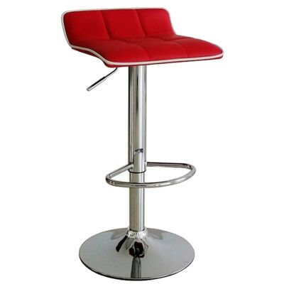 Kobe PU Leather Gas Lift Bar Stool