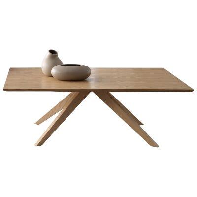 Danny Oak Tibmer Coffee Table, 120cm
