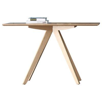 Danny Oak Tibmer Console Table, 120cm