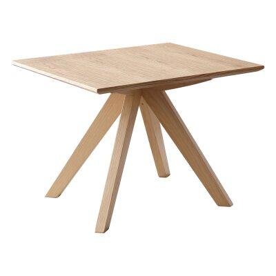 Danny Oak Tibmer Lamp Table